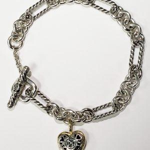 Sterling-Silver-Heart-Bracelette-Top