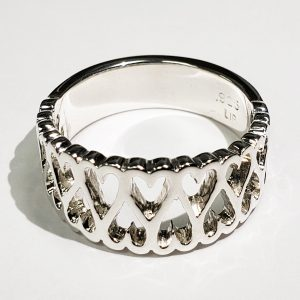 Sterling-Silver-Heart-Ring-Front